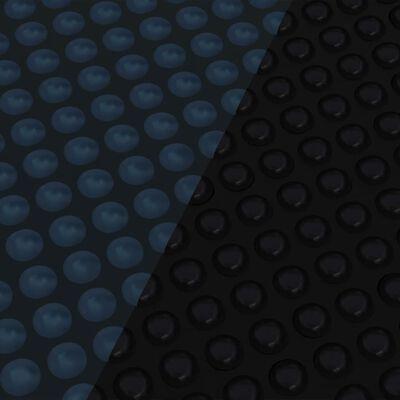 vidaXL Floating PE Solar Pool Film 549 cm Black and Blue