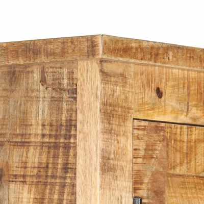 vidaXL Wardrobe 90x50x180 cm Solid Mango Wood