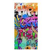 Good Morning Beach Towel GRAFFITY 75x150cm Multicolour