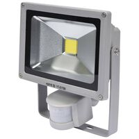 YATO LED Lamp with Motion Detector 20 W Grey
