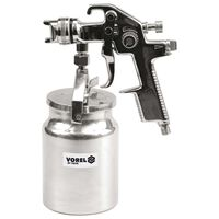 VOREL HVLP Spray Gun with Fluid Cup 1000 ml