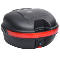 vidaXL Motorbike Top Case 26 L for Single Helmet
