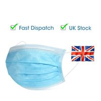 Disposable Face Mask Dust Pollen Bacteria Filter Earloop 30 pieces