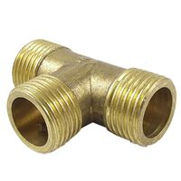 1/2 Inch Pipe Tee Male Adapter Connector