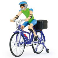 Jamara Bicycle With Sound Purple