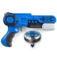 Silverlit Spinner Mad Single Shot Blaster Mega Wave Blue