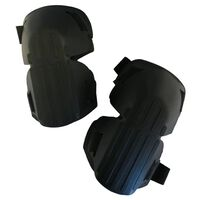 Toolpack Solid Knee Pads Flint with PP Cap Black
