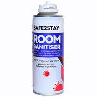 Safe2Stay Room Sanitiser Fog Spray - 6 x 200ml
