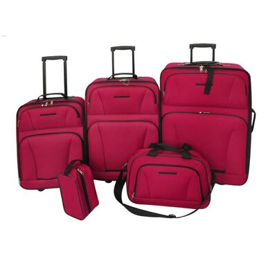 In this sustainable luggage set you can easily pack all your bagage. Because of the different size of the trolleys the set is suitable for small getaways and big travels. The pull-out telescopic handles and the 2 wheels underneath the trolleys make this set practical when used.