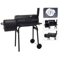 ProGarden Barbecue Smoker Black