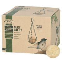 Esschert Design 4-Season Bird Suet Balls Including Holder