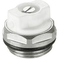 1/2 Inch Manual Radiator Air Vent Bleed Ending Cap Plug Key Valve