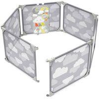 Skip Hop Playview Expandable Enclosure Grey