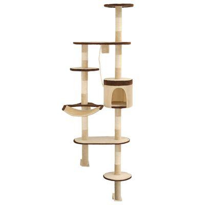 Vidaxl Cat Tree With Sisal Scratching, Wall Mounted Cat Furniture Uk