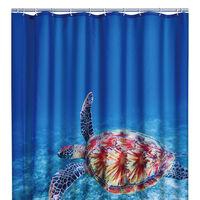RIDDER Shower Curtain Turtle 180x200 cm