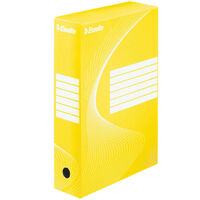 Esselte Archiving Box 25 pcs Yellow 80 mm