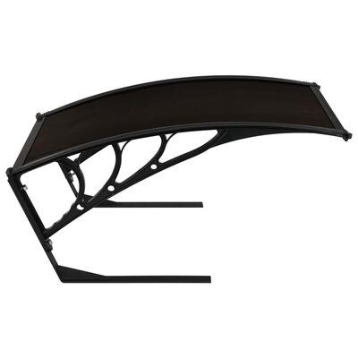 vidaXL Garage Roof for Robot Lawn Mower 77x103x46 cm Black