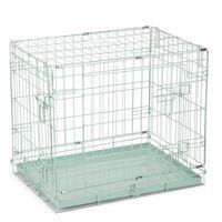 Beeztees Dog Crate 62x44x49 cm Green