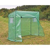 HI Greenhouse 200x77x169/148 cm Green