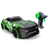 Exost Radio-controlled Toy Streetcar Lighting Dash Green 1:14