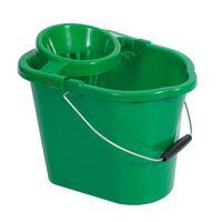 Robert Scott Green Mop Bucket & Wringer - 1x12ltr
