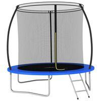 vidaXL Trampoline Set Round 244x55 cm 100 kg