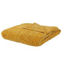 Blanket 150 x 200 cm Yellow HAIFA