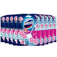 Domestos Power5 Toilet Block, Pink, 9 Packs Of Duo Pack