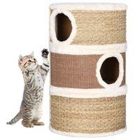 vidaXL Cat Scratching Barrel 60 cm Seagrass