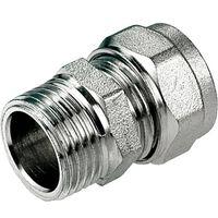 16mm x 1/2 Inch Male PEX Compression Adapter Copupler
