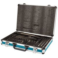 Makita 18 Piece Drill and Chisel Set Silver