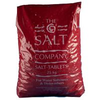Salt Tablets for Dishwashers and Water Softners - 1 x 25kg
