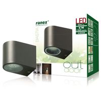 Ranex LED Wall Light 3 W Grey 5000.332