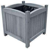 vidaXL Garden Raised Beds 2 pcs 30x30x30 cm Solid Firwood
