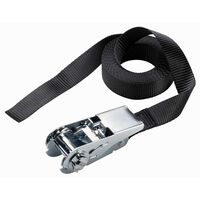 Master Lock Endless Ratchet Tie-Down Strap 5 m x25 mm Black 3108EURDAT