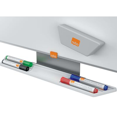 nobo Assorted Glass Whiteboard Markers 4pcs