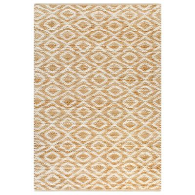Give your interior a modern and natural touch with our jute handwoven area rug!