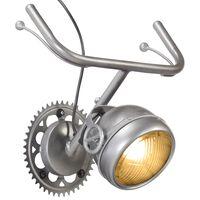 vidaXL Wall Lamp in Bicycle Part Design Iron