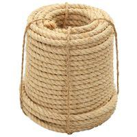 vidaXL Rope 100% Sisal 16 mm 50 m