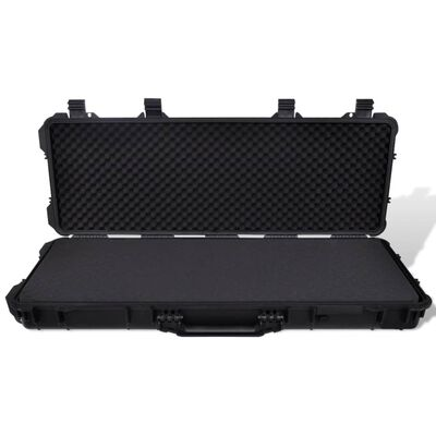 Waterproof Plastic Molded Gun Case Trolly Carry Case