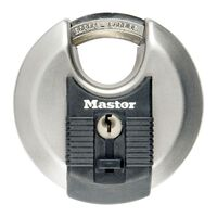 """Master Lock Discus Padlock """"Excell"""" Stainless Steel 70 mm M40EURD"""
