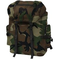 vidaXL Army-Style Backpack 65 L Camouflage