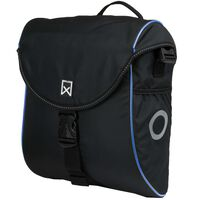 Willex Bicycle Pannier 300 S 12 L Black and Blue