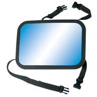A3 Baby & Kids Adjustable Baby Car Mirror 26.5x19 m Black