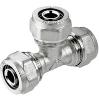 20x16x20mm Tee PEX Compression Pipe Connector