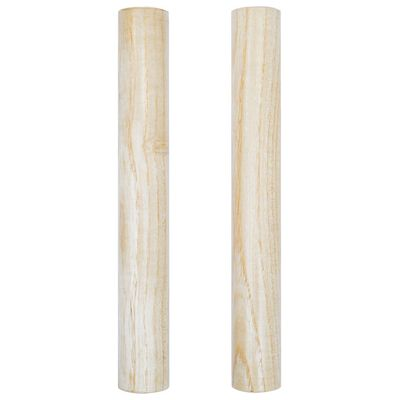vidaXL 3 Piece Percussion Set Wood