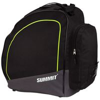 Summit Ski Shoes Bag Black and Fluorescent Yellow