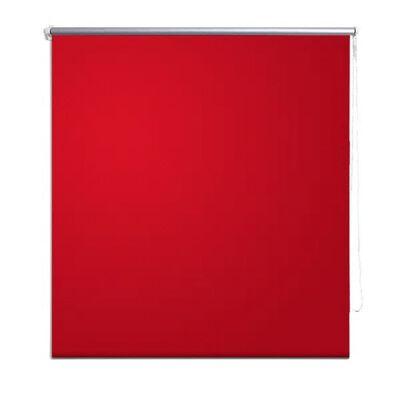 Roller Blind Blackout 80 x 175 cm Red