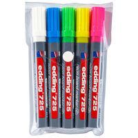 edding Neon Board Marker 5 pcs Multicolour 725