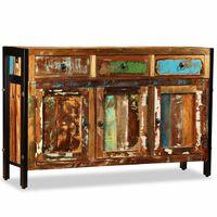 vidaXL Sideboard Solid Reclaimed Wood 120x35x76 cm